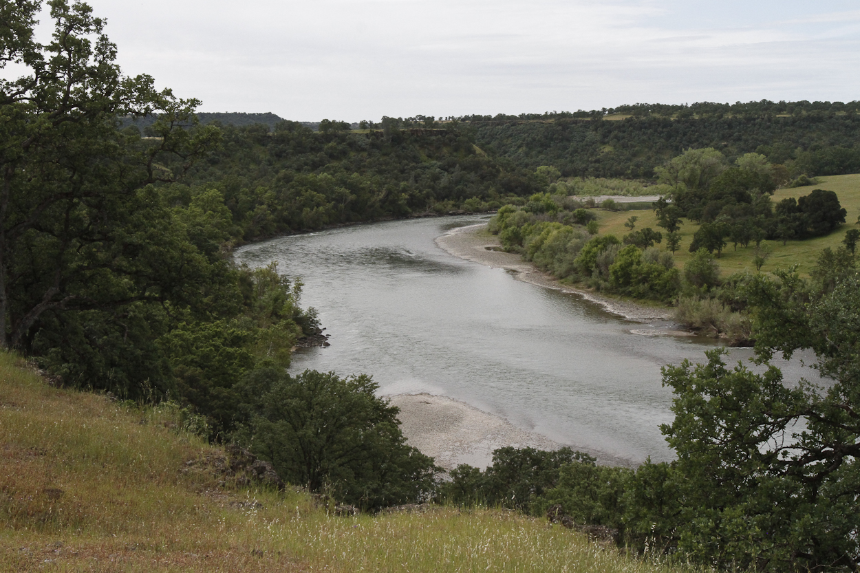 Sacramento River Canyon near Red Bluff, California. Photo by Clay Duda.