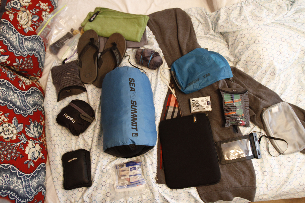 How to pack for a backpacking trip to Europe. Photo by Clay Duda.