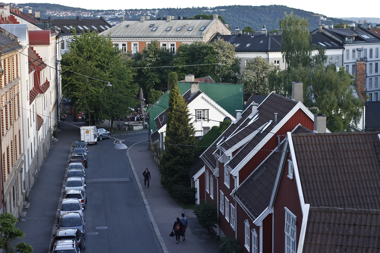 The Torshov neighborhood in Oslo, Norway. Photo by Clay Duda.