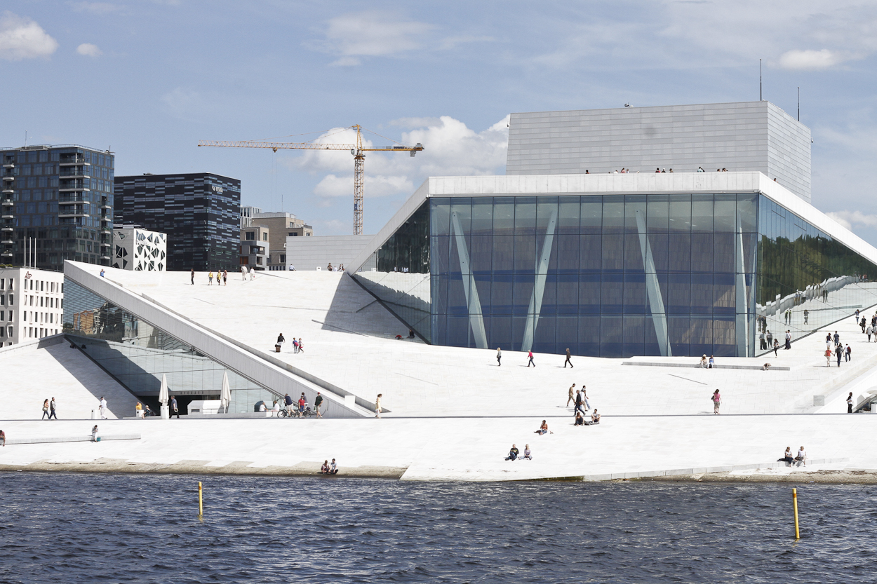 The Oslo Opera House. Photo by Clay Duda.