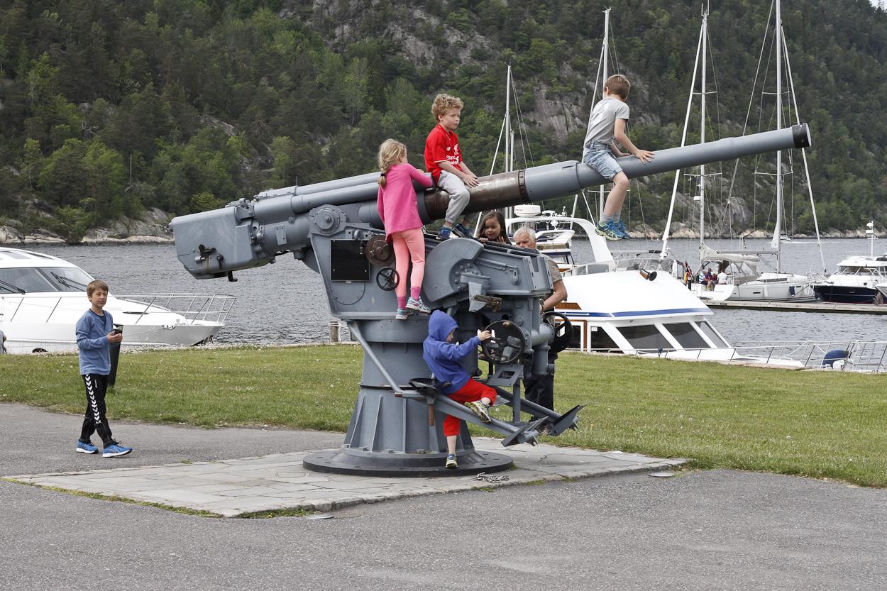 Oscarsborg Festning. Photo by Clay Duda.