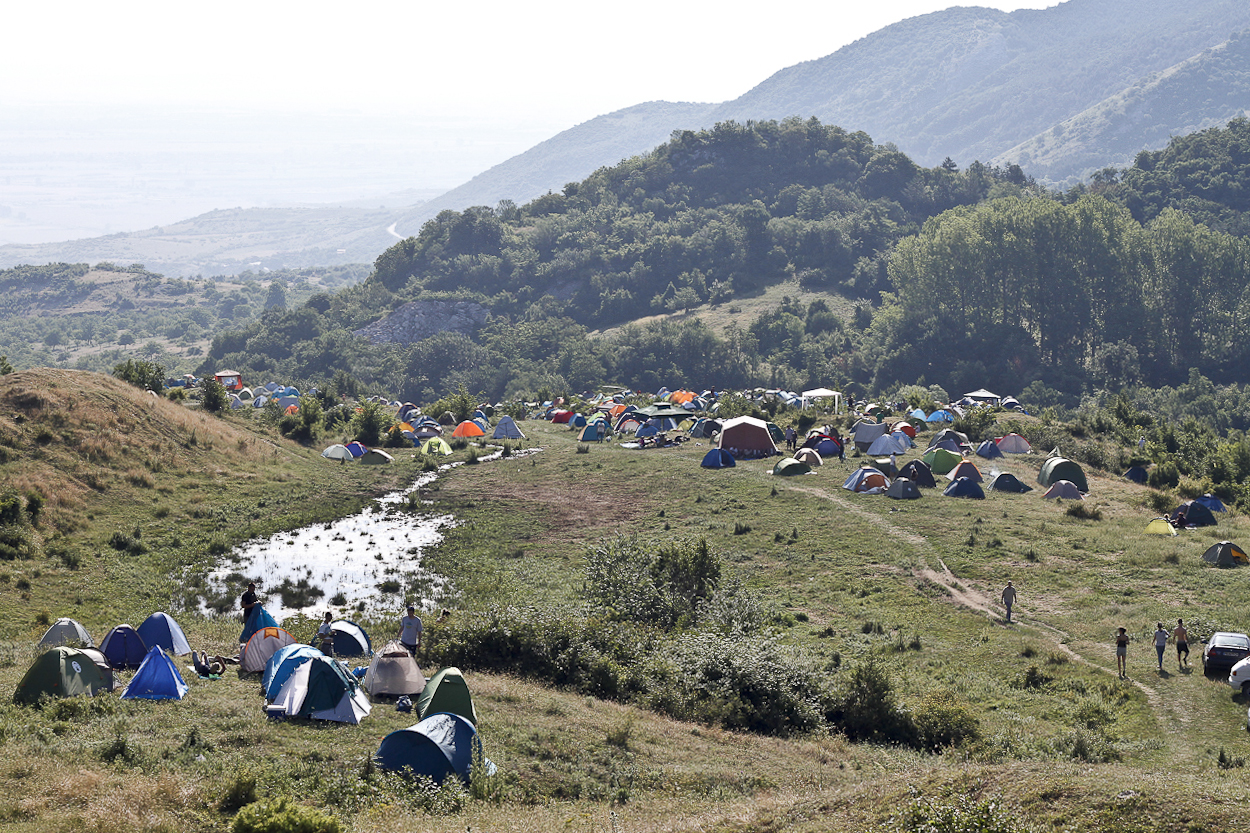 Wake Up Festival in Bulgaria. Photo by Clay Duda.