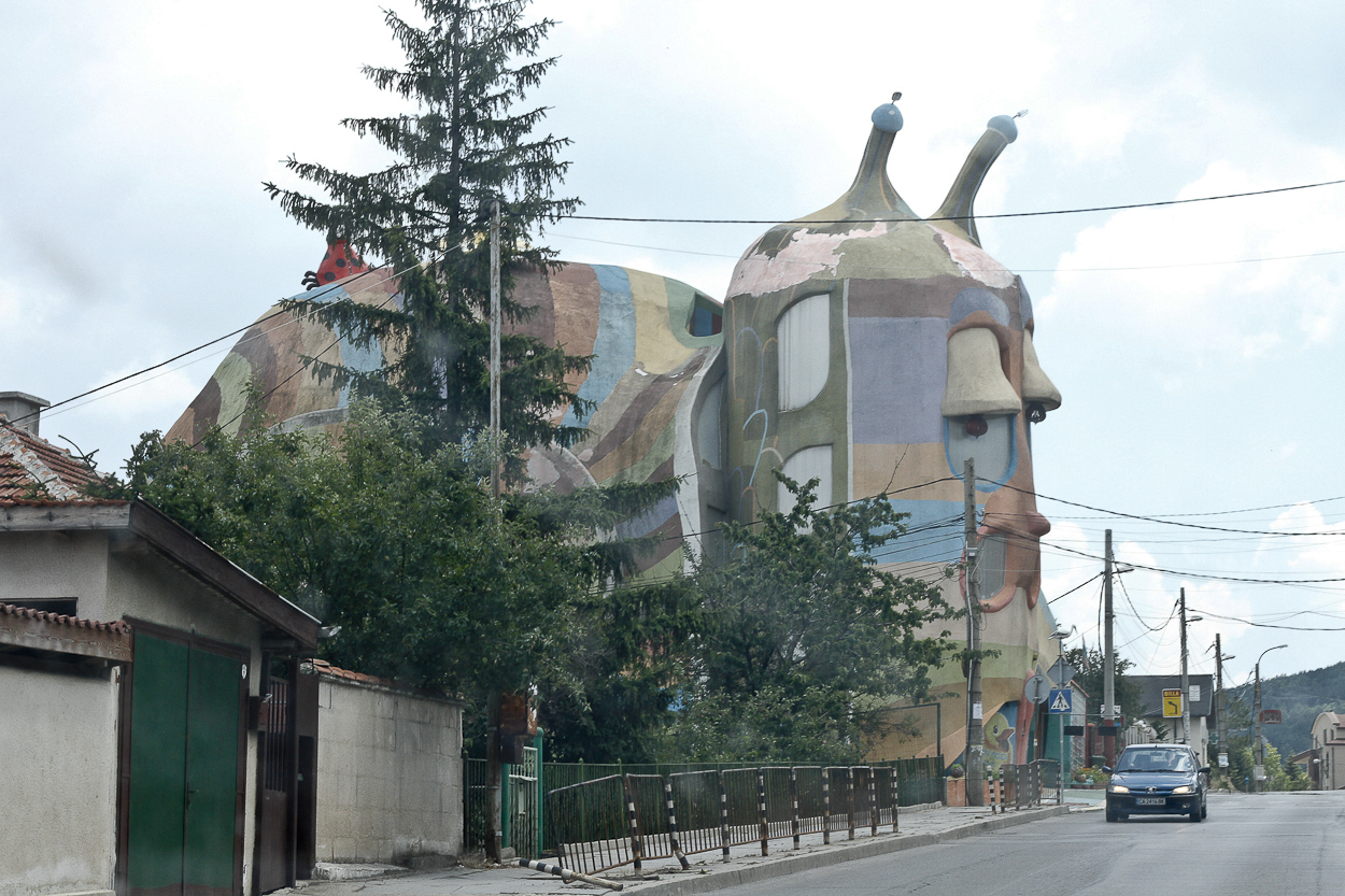 The Snail House in Sofia, Bulgaria. Photo by Clay Duda.