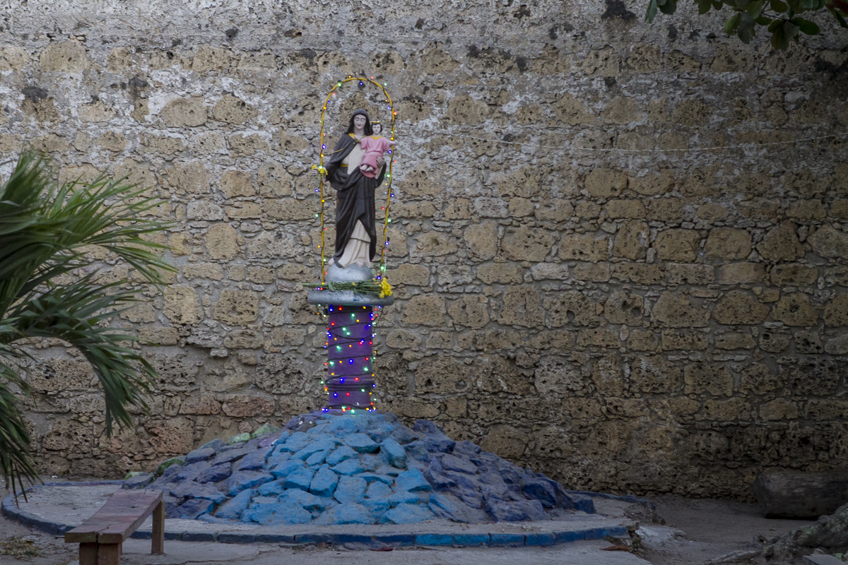 The patron saint of Cartagena de Indies. Photo by Clay Duda.