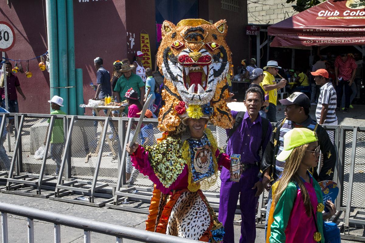 Carnaval 2016 Barranquiila, Colombia. Photo by Clay Duda.