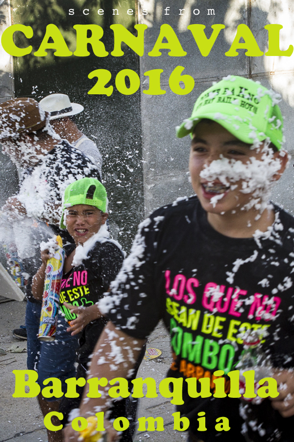 Pin it! Photos from Carnaval 2016 in Barranquilla, Colombia. All photos by Clay Duda.