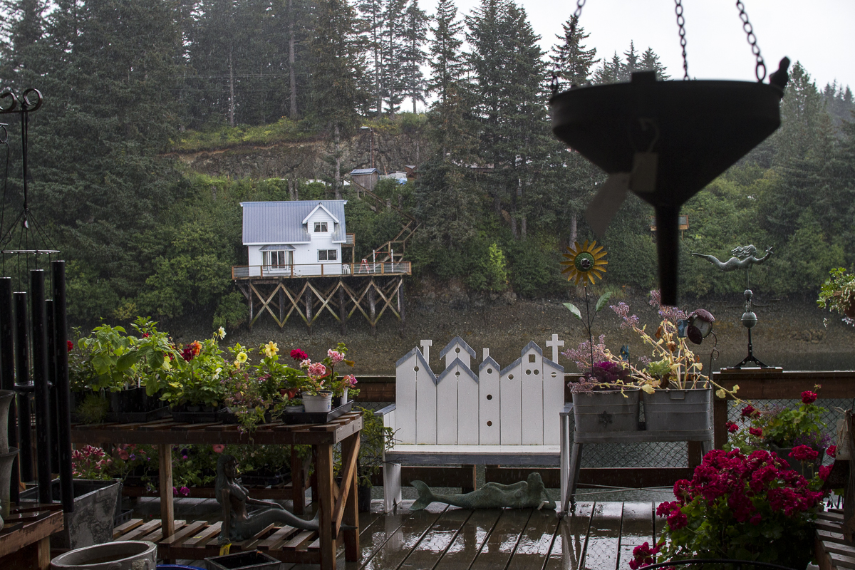 The small town of Seldovia, Alaska, is only accessible by boat or plane.
