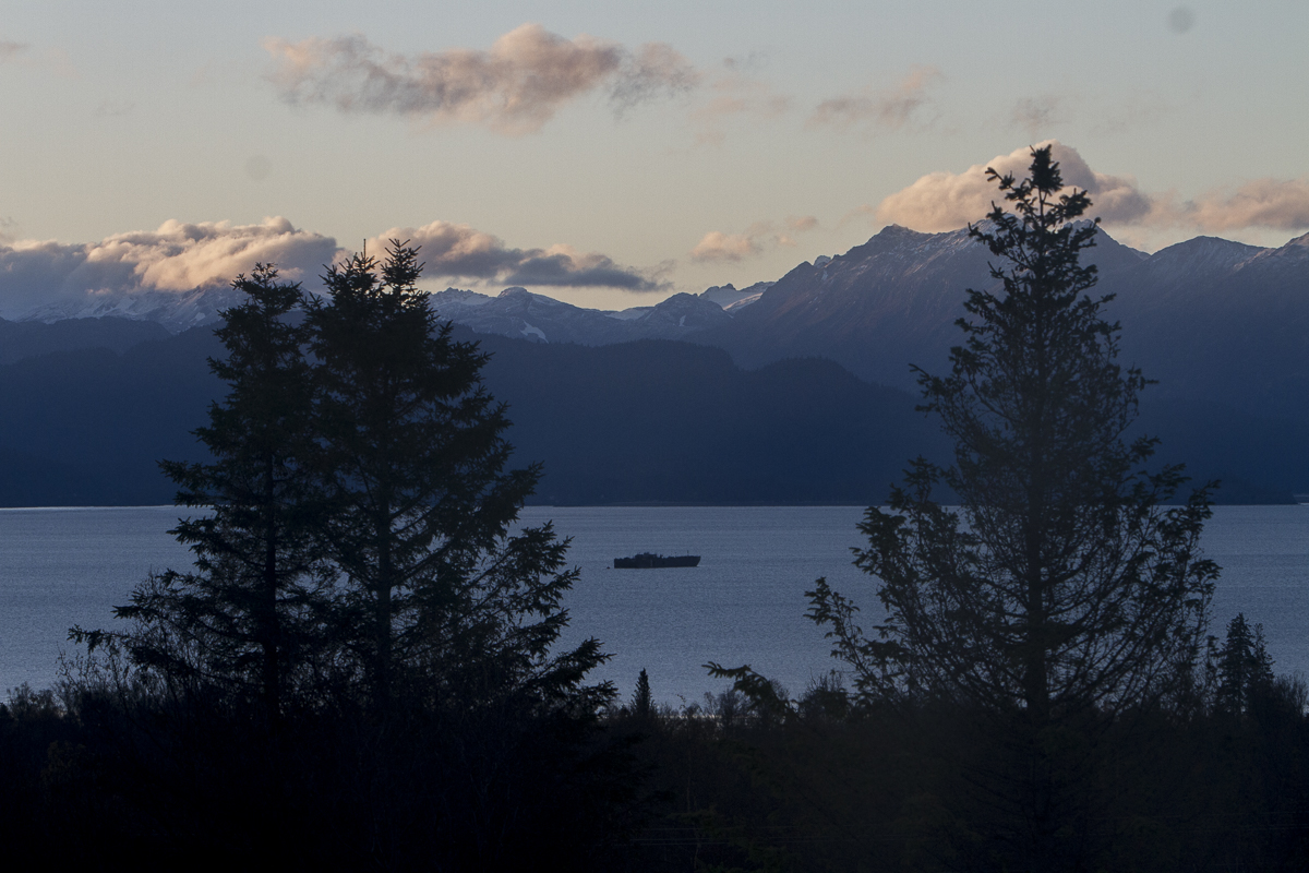 Early morning on Kachemak Bay.