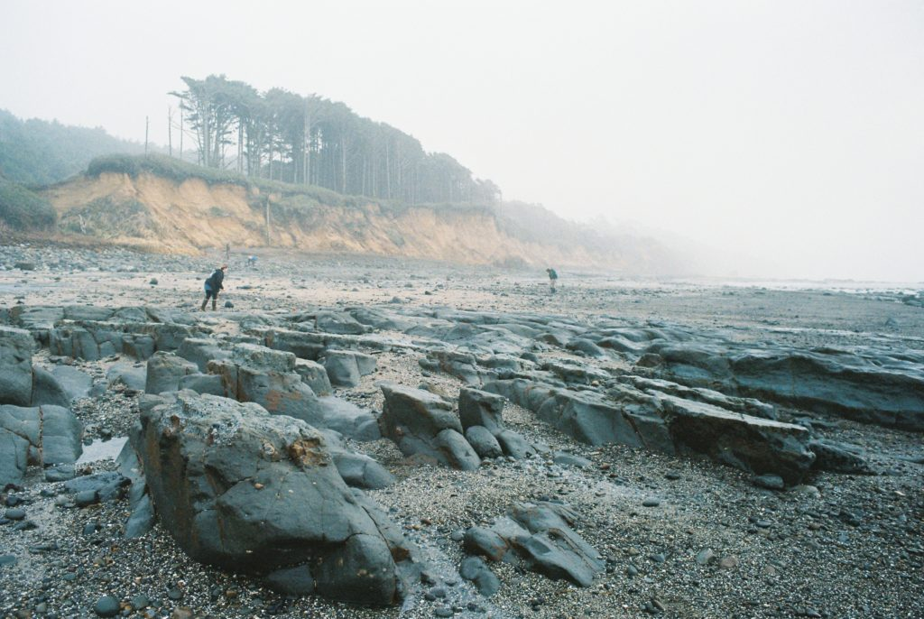Moolack Beach near Newport, Oregon is one of the best places to find sea glass, agates, and fossils. Photo by Clay Duda.